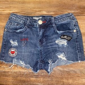 Hippie Laundry Mid Rise Jean Shorts Size 25